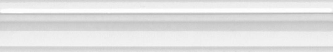Бордюр Багет Марсо белый обрезной 30*5