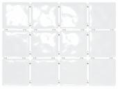 Бриз белый, полотно 30*40 из 12 частей 9,9*9,9
