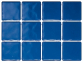 Бриз синий, полотно 30*40 из 12 частей 9,9*9,9