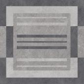 Вомеро лаппатированный с узором серый 50,2*50,2