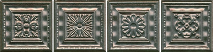 Декор Барельеф 9,9*9,9