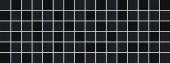 Декор Бельканто мозаичный 15*40 черный