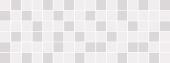 Декор Вилланелла мозаичный белый 15*40
