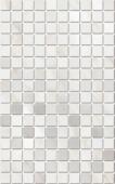 Декор Гран Пале белый мозаичный 25*40