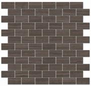 Декор Грасси коричневый мозаичный 32*30