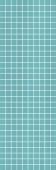 Декор искья мозаичный бирюзовый 25*75