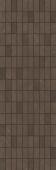 Декор мозаика Низида коричневый 25*75