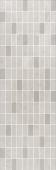 Декор мозаика Низида серый светлый 25*75