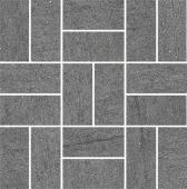 Декор Ньюкасл серый темный мозаичный 30*30