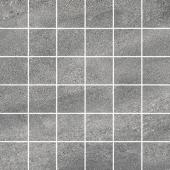 Декор Про Матрикс серый тёмный мозаичный 30*30