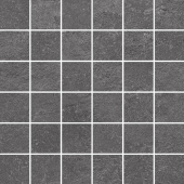 Декор Про Стоун антрацит мозаичный 30*30