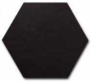Керамогранит SCALE Hexagon Porcelain Black 11,6х10,1 см
