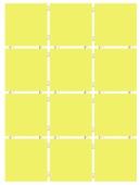 Конфетти желтый блестящий, полотно 30*40 из 12 частей 9,9*9,9