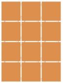 Конфетти коричневый блестящий, полотно 30*40 из 12 частей 9,9*9,9