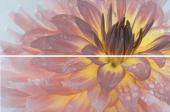 Панно Искья обрезной Цветок 50*75