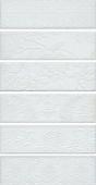 Панно Кампьелло белый из 6 частей 8,5*28,5