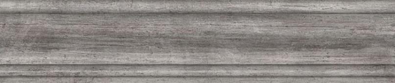 Плинтус Арт Вуд серый 39,8*8
