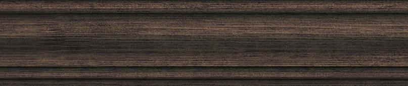 Плинтус Гранд Вуд коричневый тёмный 39,8*8
