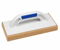Пластмассовая тёрка KUBALA с губкой для мытья плитки после затирок