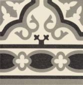 Cenefa White 20x20 см напольная плитка