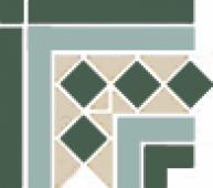 Угол керамический Corner BELFAST 2 Strip Stand. (13+16+18) 16,5x16,5