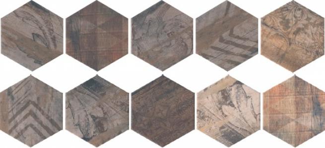 Панно Монруж 10.4*120 из 10 плиток 10,4*12