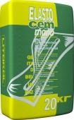 Гидроизоляция Elastocem Mono цементная 20 кг - для ванн, подвалов, бассейнов