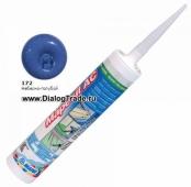 Силиконовый герметик Mapesil AC N. 172 Небесно-голубой