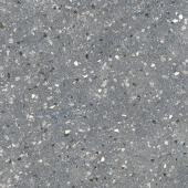 Терраццо серый тёмный обрезной 60*60