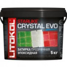 Starlike Color Crystal Evo прозрачная эпоксидная 2,5 кг Litokol