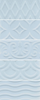 авеллино голубой структура mix 7,4*15 KERAMA MARAZZI 16015