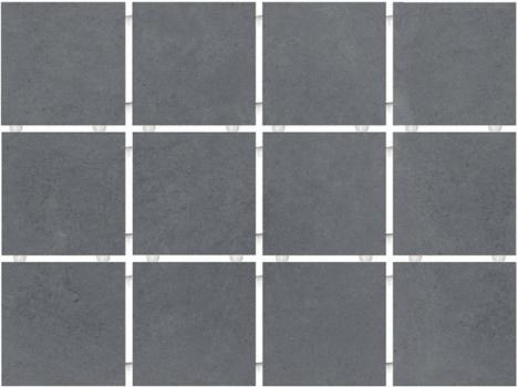 амальфи серый темный, полотно 30*40 из 12 частей 9,9*9,9 KERAMA MARAZZI 1290