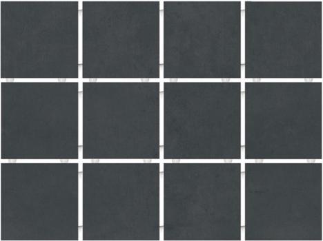 амальфи черный, полотно 30*40 из 12 частей 9,9*9,9 KERAMA MARAZZI 1291