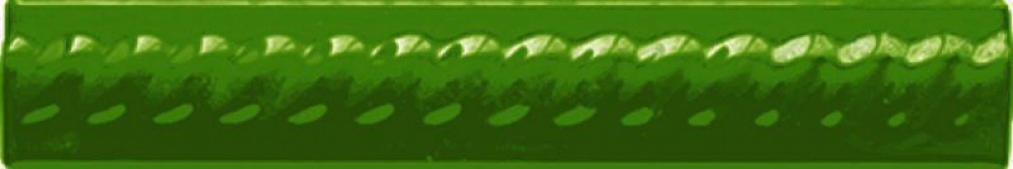 бордюр paris trenza verde vic 2,5x15 см CEVICA Trenza Verde Vic