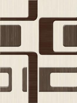 декор вельвет бежевый 25*33 Golden Tile Л61311