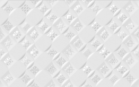 декор  relax aura / релакс аура белый 25*40 Golden Tile 490401