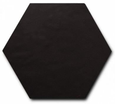 керамогранит scale hexagon porcelain black 11,6х10,1 см EQUIPE 23114
