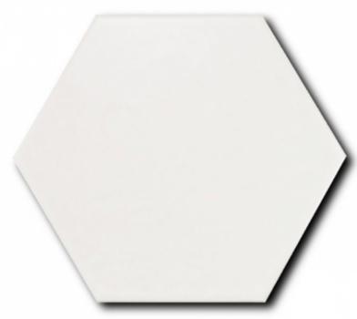 керамогранит scale hexagon porcelain white 11,6х10,1 см EQUIPE 22357