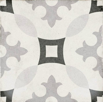 плитка напольная art nouveau karlsplatz grey 20x20 см EQUIPE 24417
