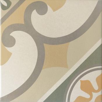 плитка напольная caprice burgundy 20x20 см EQUIPE 20927