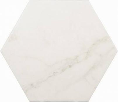 плитка напольная carrara hexagon matt 17,5x20 см EQUIPE 23101
