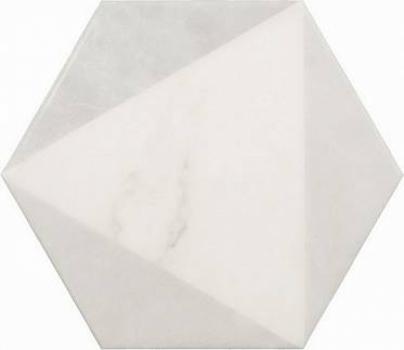плитка напольная carrara hexagon peak 17,5x20 см EQUIPE 23102