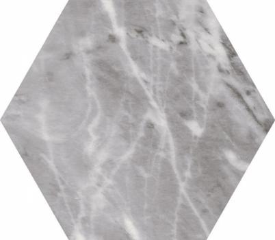 плитка настенная bardiglio hexagon dark 17,5x20 см EQUIPE 23770