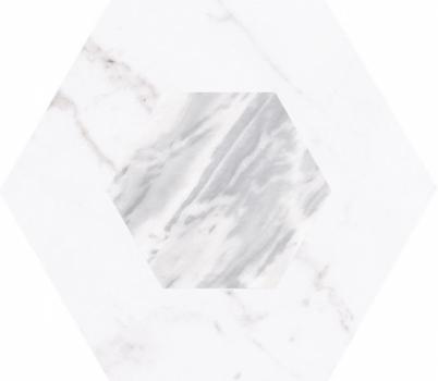 плитка настенная bardiglio hexagon geo 17,5x20 см EQUIPE 23771