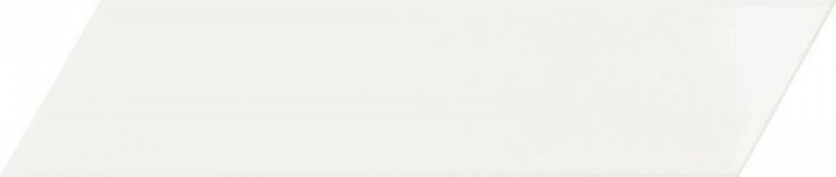 плитка настенная chevron white left 6,4x26 см CEVICA White Left
