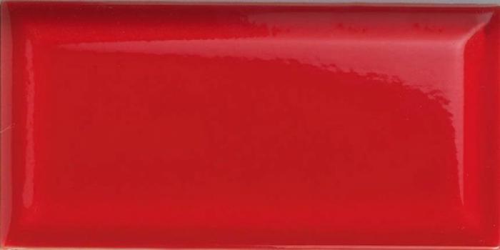 плитка настенная paris (metro) rojo 7,5x15 см CEVICA Rojo