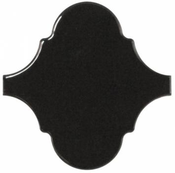 плитка настенная scale alhambra black 12х12  см EQUIPE 21935