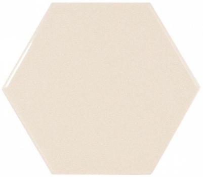 плитка настенная scale hexagon crema 12,4х10,7 см EQUIPE 21914