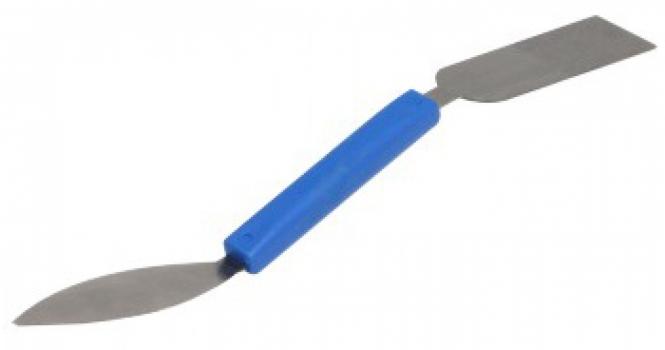 Шпатель KUBALA двусторонний универсальный стальной 24 мм