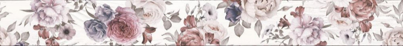 1506-0018 шебби шик бордюр 7x60 белый LASSELSBERGER | LB Ceramica